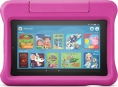 Amazon Fire 7 KFMUWI 2019, ohne Werbung, 16GB, pink, Kids Edition (53-016348 / 53-016345)