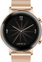 Huawei Watch GT 2 Elegant 42mm gold mit Milanaise-Armband refined gold (55024506)