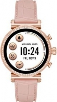 Michael Kors Access Sofie Heart Rate rosegold mit Silikonarmband pink (MKT5068)